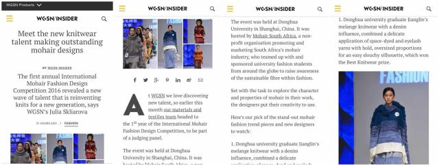 Works Of New Designers From Fashion Art Design Institute Reported By Wgsn