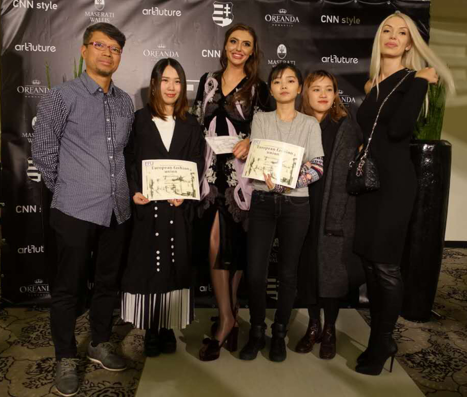 Students Of Fashion Art Design Institute Honored With Fashion Designer Award By European Fashion Union